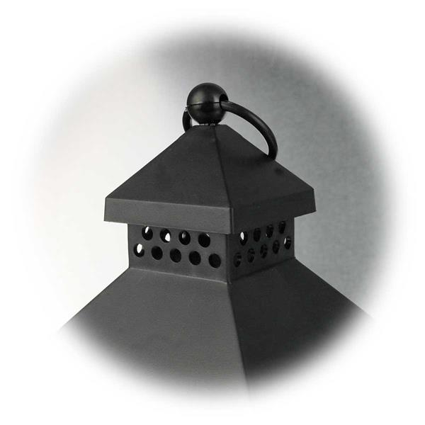 LED Gartenleuchte mit praktischer Aufhängung