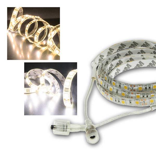 LED Stripe 2/5/10m 12V IP44 ChiliTec 3-Chip