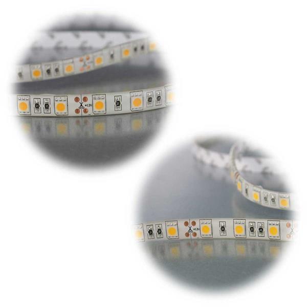 led stripe 2 5 10m lichtband 12v au en selbstklebend. Black Bedroom Furniture Sets. Home Design Ideas