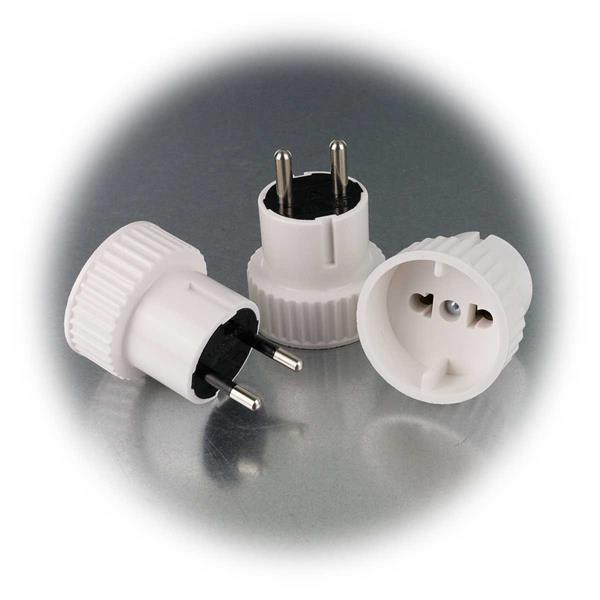 Adapter für Ihre Geräte mit Eurostecker 230V und 10A