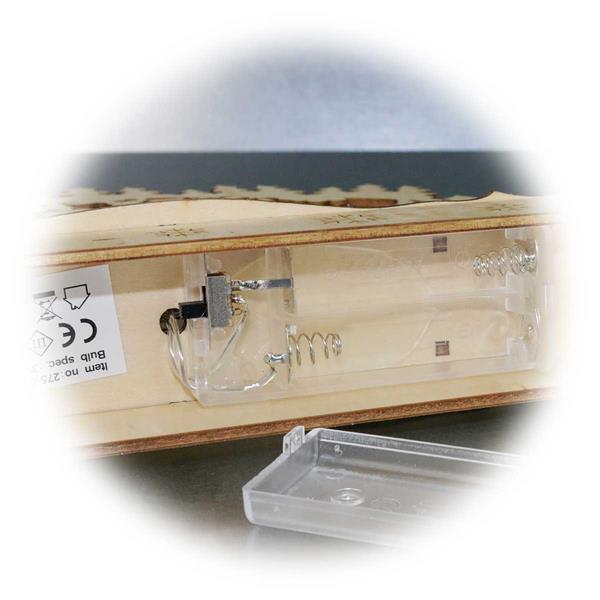 LEDLichterbogen mit moderner LED Technik und Batteriebetrieb