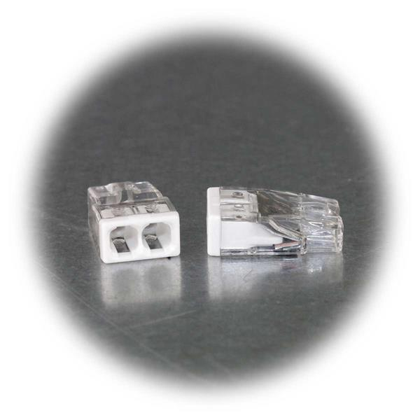 Dosenklemme für 2 Leitungen von 0,5 bis 2,5mm²