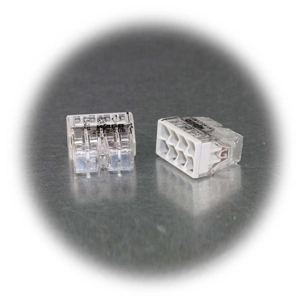 Dosenklemme für 8 Leitungen von 0,5 bis 2,5mm²
