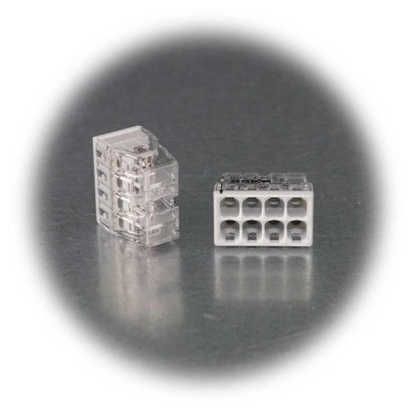 wago compact steckklemme 10 st ck 8x 0 5 2 5 mm dosenklemme. Black Bedroom Furniture Sets. Home Design Ideas