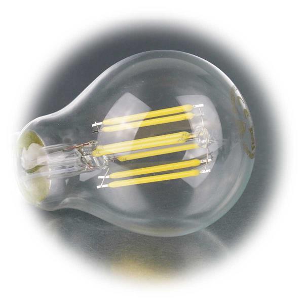 LED Glühbirne mit 750lm gut geeignet für Leuchter