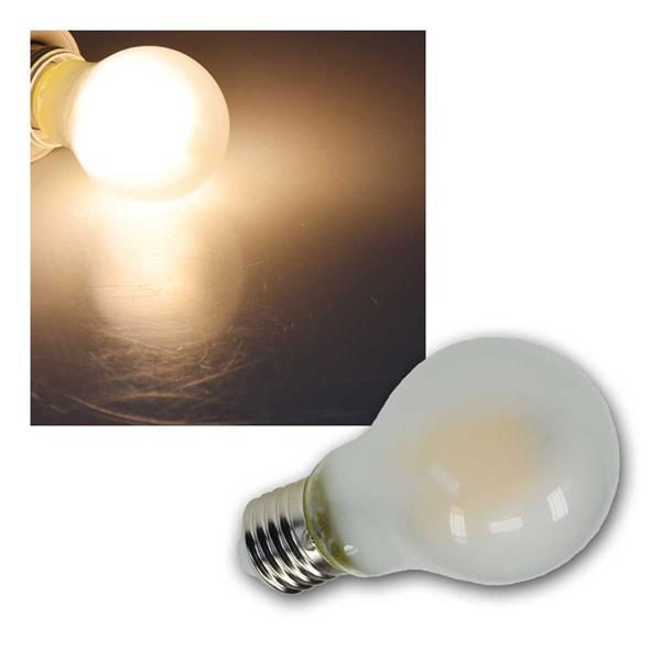 E27 Birne matt Filament G60m LED warmweiß 720lm 8W