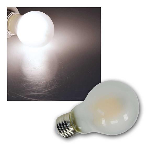E27 Birne matt Filament G60m LED neutralw 720lm 8W