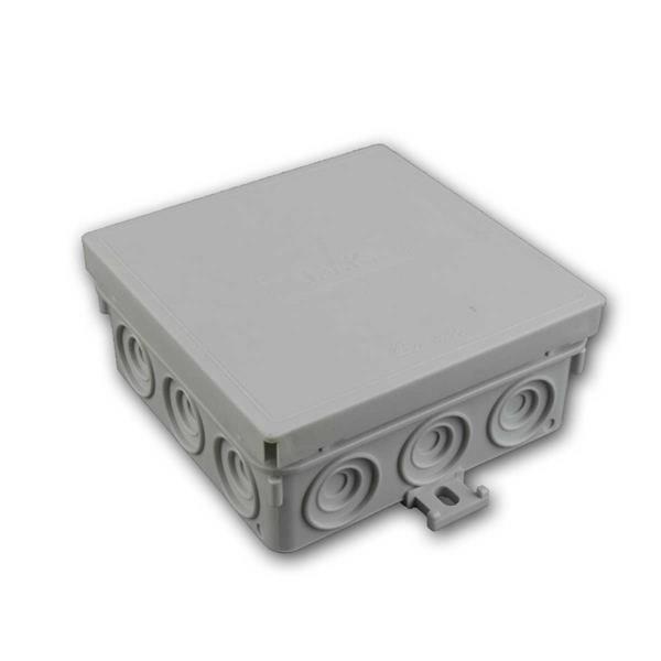 Abzweigkasten IP55 grau 100x100x42mm Feuchtraum
