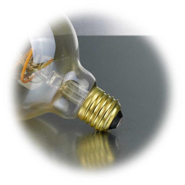 E27 LED Retro-Glühbirne 130lm dimmbar