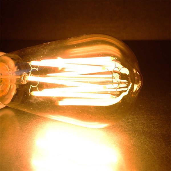 Dimmbare Retro Glühbirne für Dekobeleuchtung