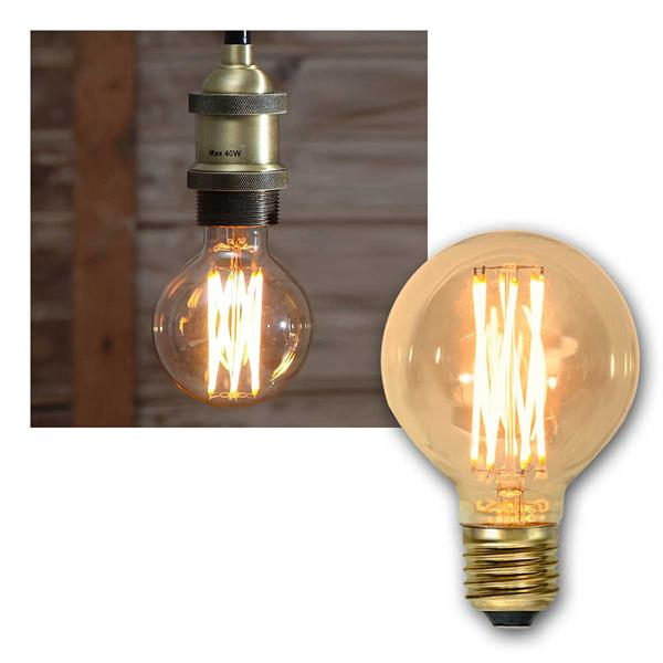 E27 LED Birne VINTAGE Filament Birne-Optik 240lm
