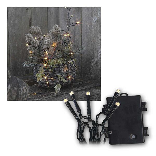 batterie au en led lichterketten dura mi timer weihnachtsbeleuchtung lichternetz ebay. Black Bedroom Furniture Sets. Home Design Ideas