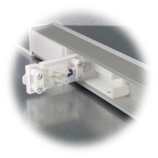 LED SMD Lichtleiste für Hängeschränke für direkten Anschluss an 230V