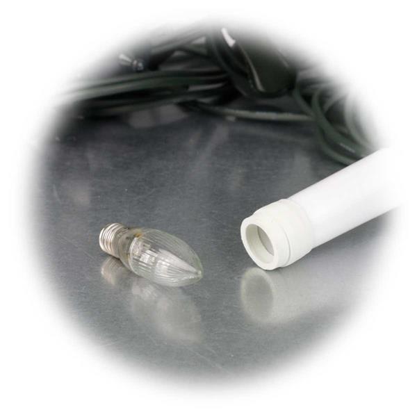 LED Lichterkette mit austauschbarem Leuchtmittel