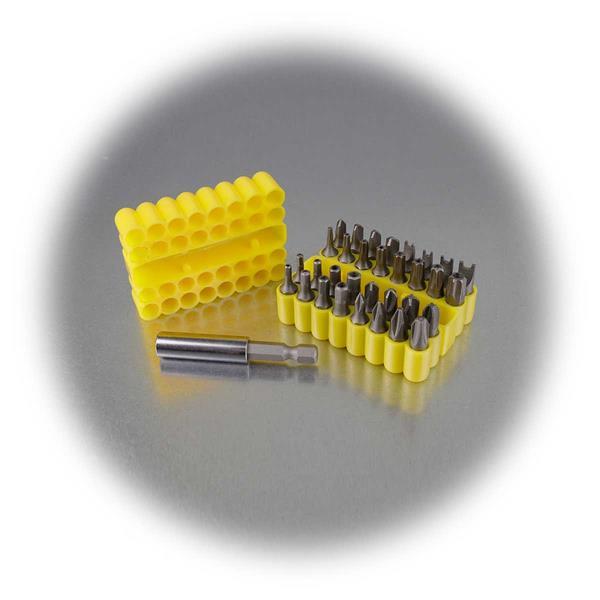 Bit Set mit Magnet-Bithalter für den Einsatz in Werkstatt, Garten oder Haus