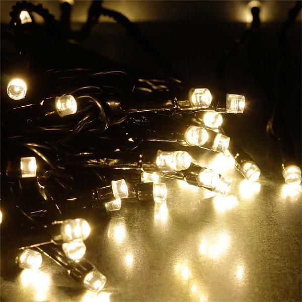 System Decor Lichterkette verzaubert mit warmweißem Licht