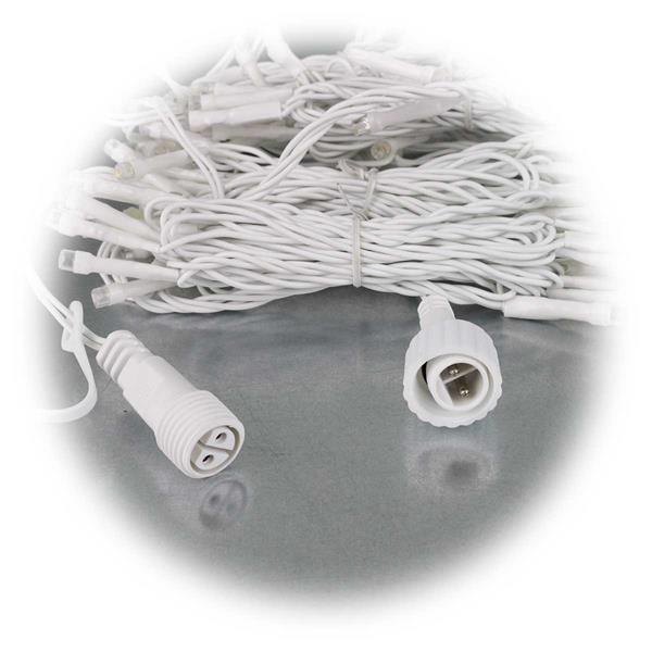 LED Lichtervorhang zum Dekorieren von Dachkanten, Dachrinnen oder Fenstern