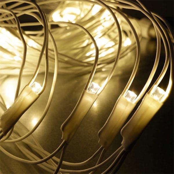System Decor Lichternetz verzaubert mit warm weißem Licht