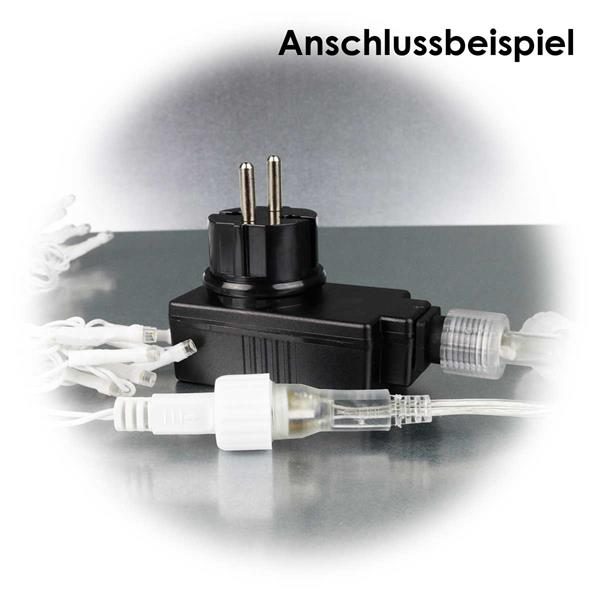 LED Lichtervorhang nur in Verbindung mit System Decor LED-Transformer