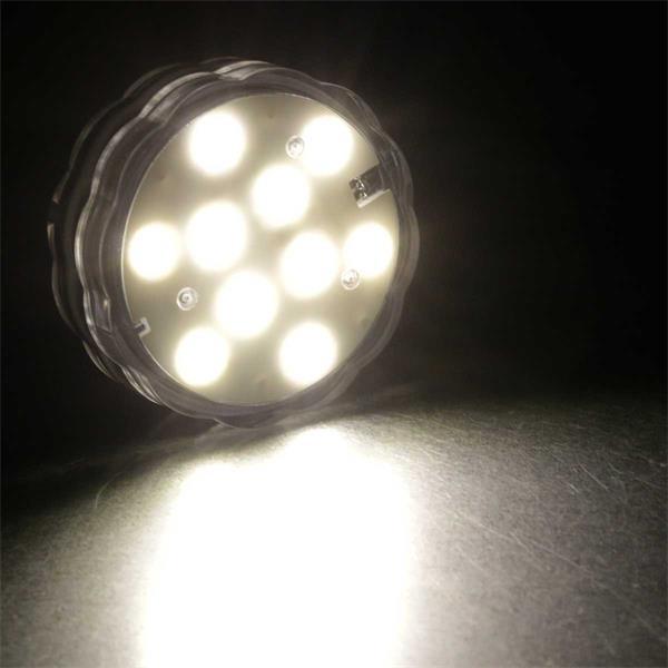 LED Dekolicht für Lichteffekte unter Wasser