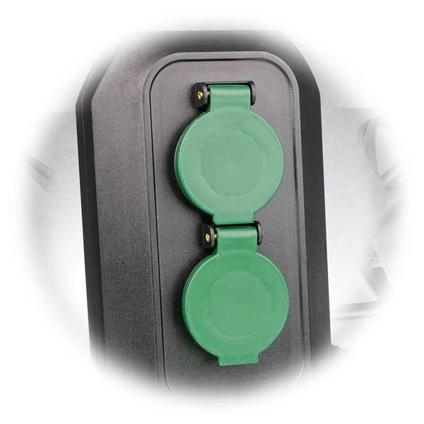 2-fach Steckdose für Außengebrauch, 250V/16A