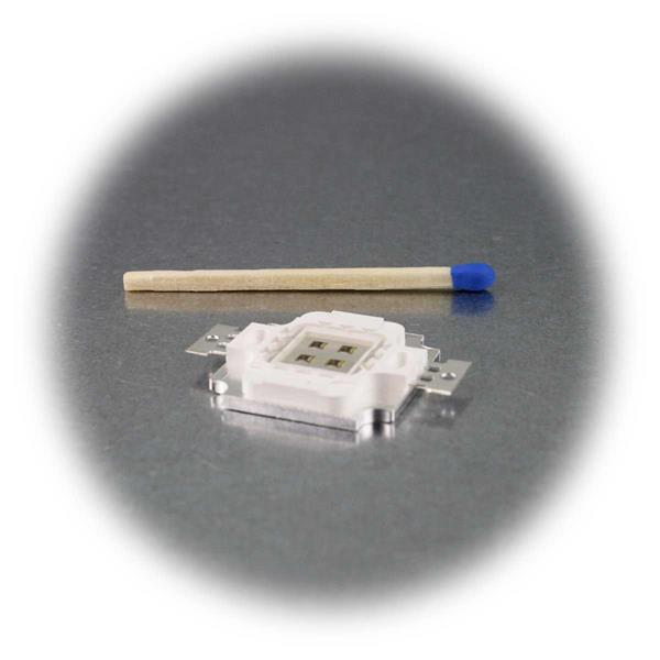 IR Highpower LED mit 30W auf Aluminium-Platine