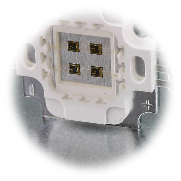 4 LEDs pro 5W IR Highpower Chip