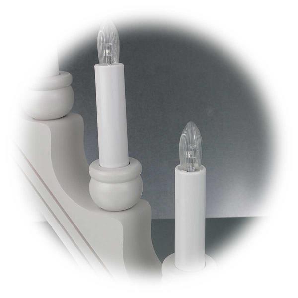 LED Kerzenleuchter im klassischen Design und moderner LED Technik