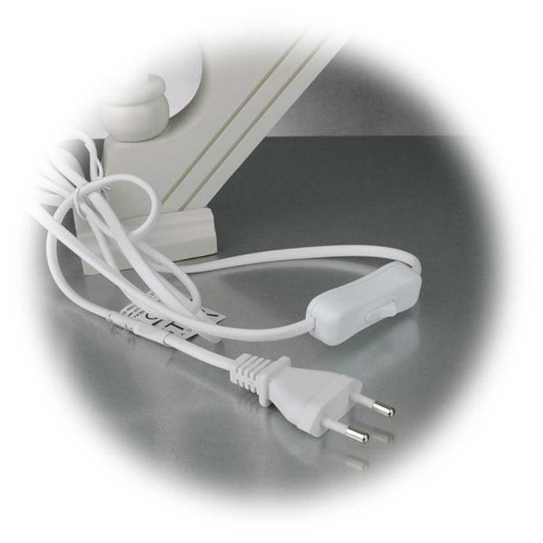 LED Weihnachtslichterbogen mit Netzteil für 230V Anschluss