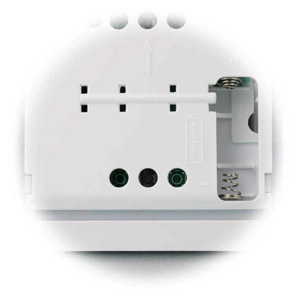 batteriebetriebener Funk Wandsender für maximal 10 Empfänger