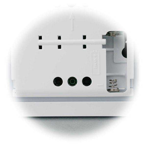 batteriebetriebener Funk Wandsender für maximal 20 Empfänger