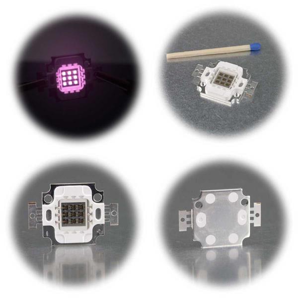High Power Chip mit 3, 5, 10 oder 30W LEDs
