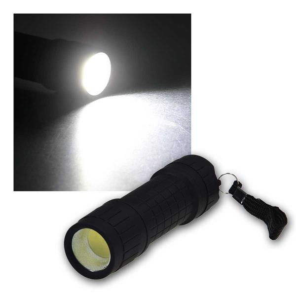 LED Taschenlampe CTL COB Mini ØxL 30x97mm