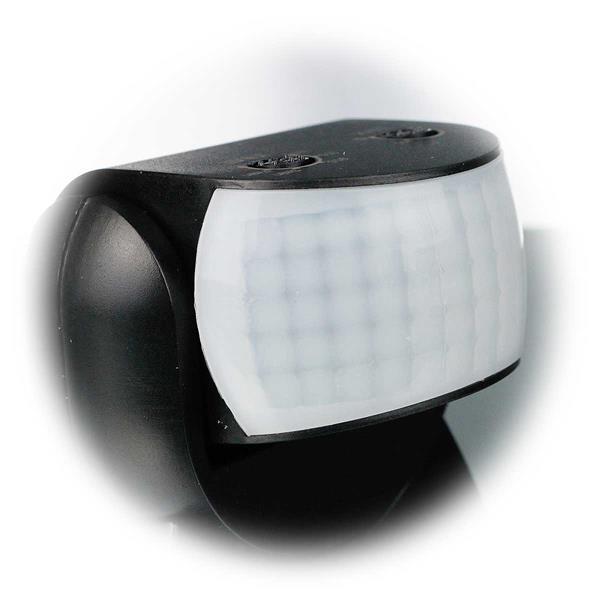 PIR-Sensor schaltet angeschlossene Lampen bei Bewegung ein