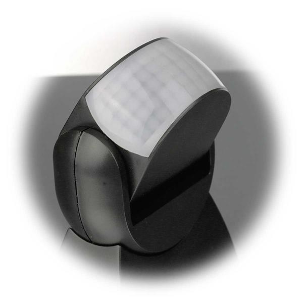 schwenkbarer Aufbau Bewegungsmelder auch für LEDs geeignet