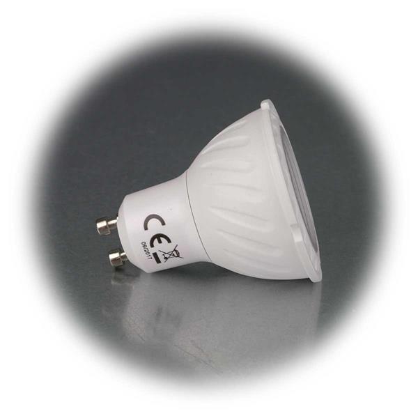 LED-Strahler mit GU10-Sockel in 3 Leuchtfarben