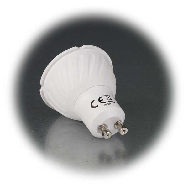 LED-Strahler mit GU10-Sockel zum Anschluss an 230V