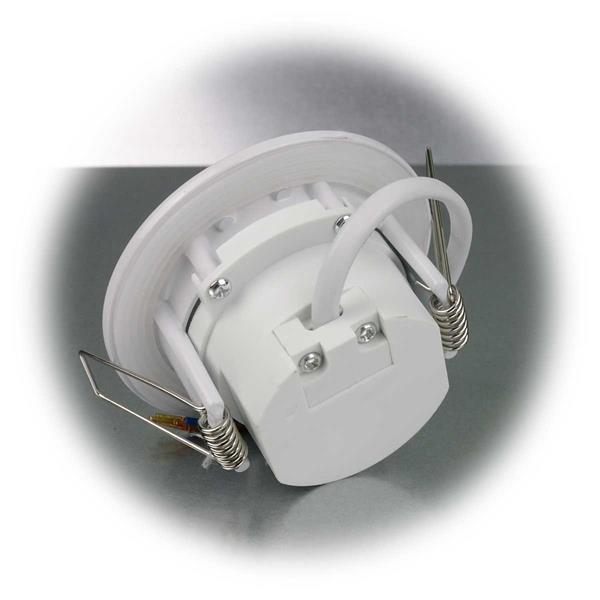 LED Downlight mit top modischer Optik im weißem Metallgehäuse