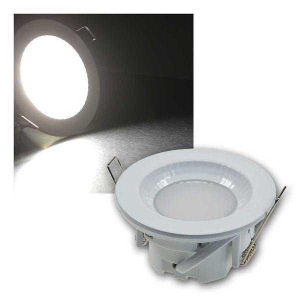 Einbauleuchte Flat-40FR LED neutralweiß 460lm weiß