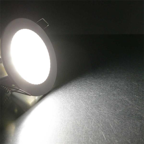 230V Einbaustrahler flach für energiesparende Lichtakzente