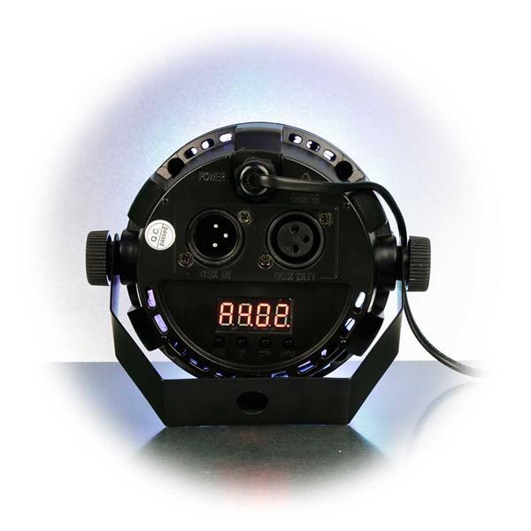 Strahler mit automatischer, manueller, Sound- oder DMX-Steuerung