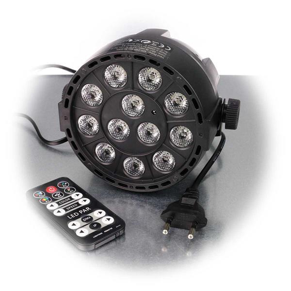 LED Partystrahler mit Fernbedienung