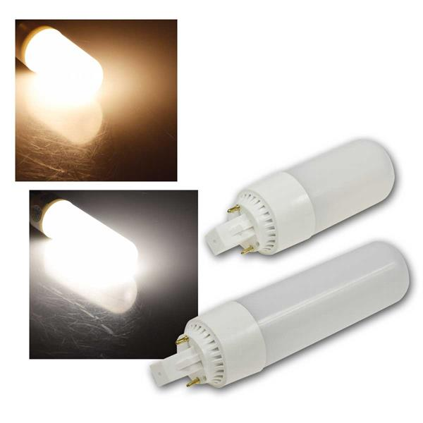 LED Leuchtmittel G24, 8/13W, warm/neutral