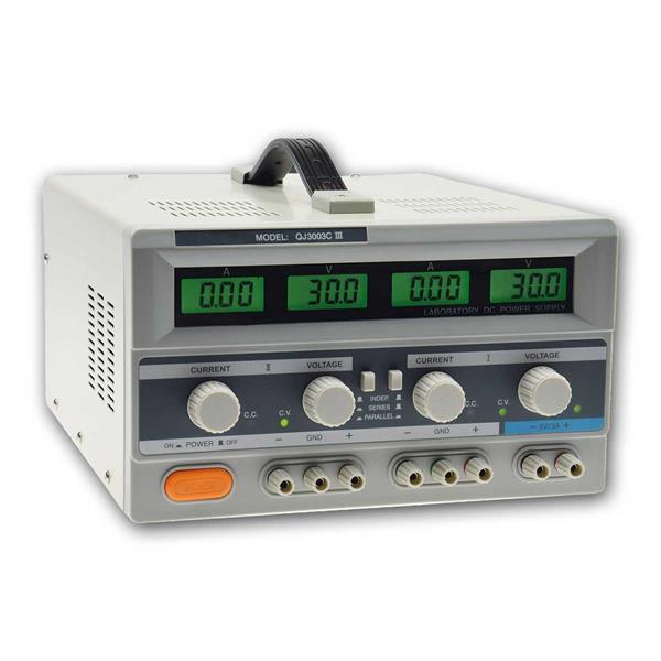 Labornetzgerät regelbar CTL-3003 DUO 2x 0-30V 0-3A