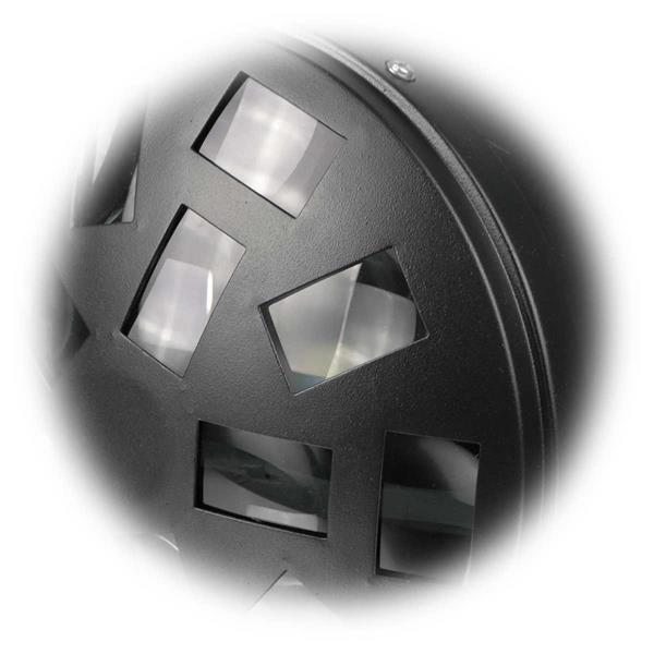Discostrahler mit 6 lichtstarken 3W-RGBAW LEDs