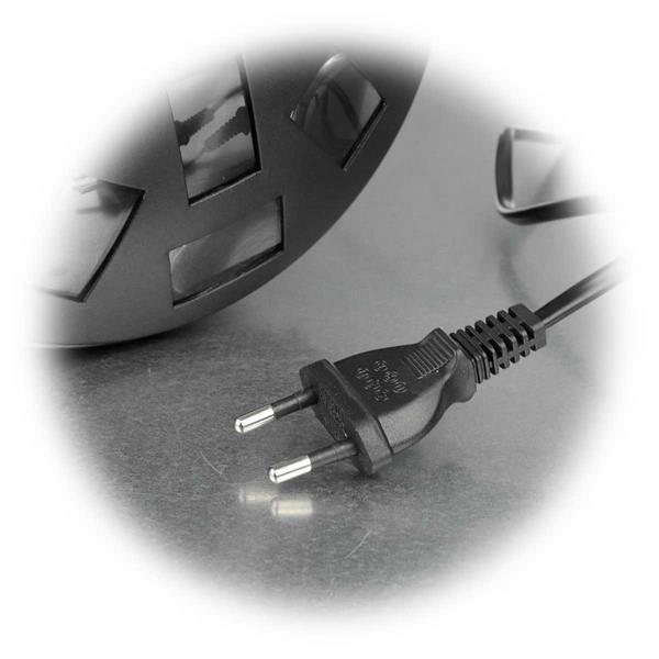 LED Effektstrahler mit Netzkabel für direkten Anschluss an 230V