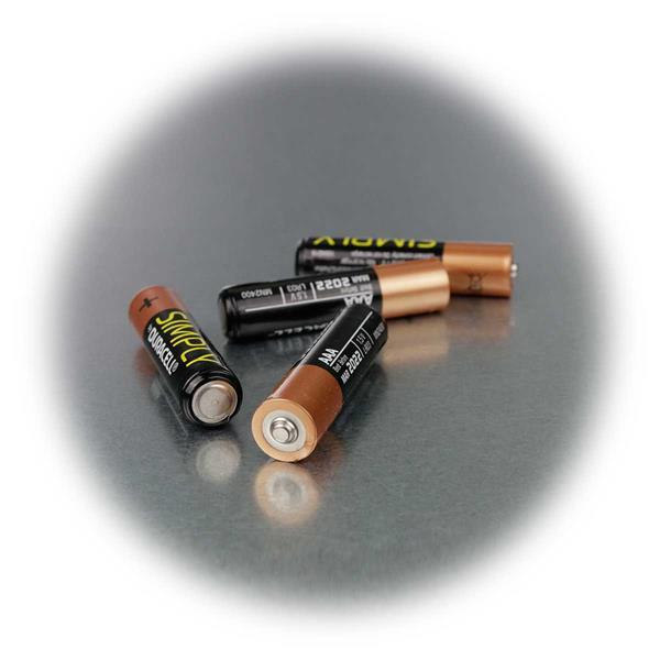 LR03 Duracell Premiumbatterie mit extrem langer Ausdauer
