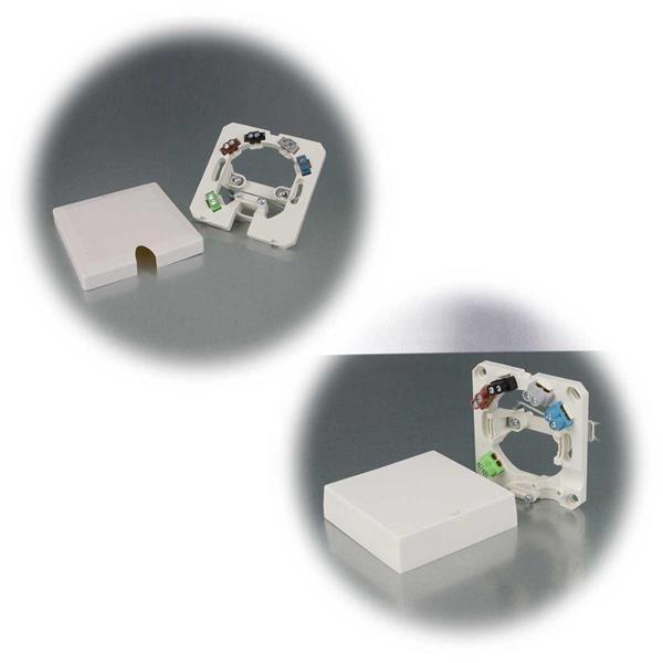 Herdanschlussdose zur AP/UP-Montage für Kabel bis 5x 2,5 mm²