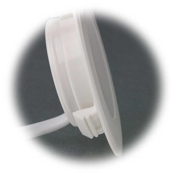 LED Wandeinbaustrahler in superflacher Ausführung