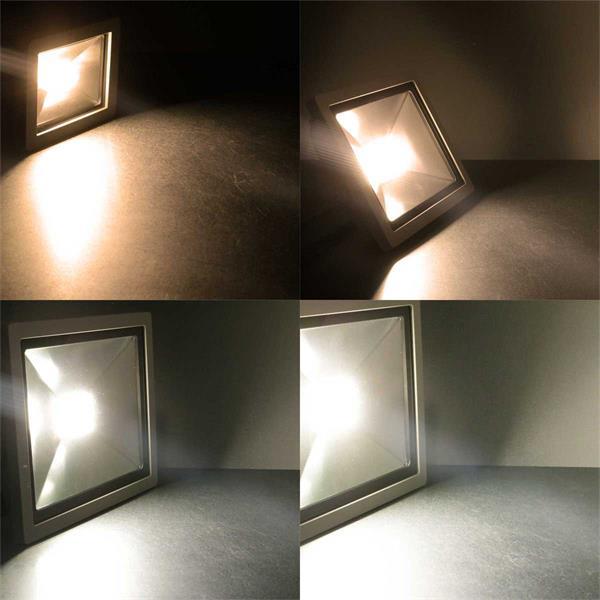 LED Fluter in warmweiß oder tageslichtweiß mit 10-100W